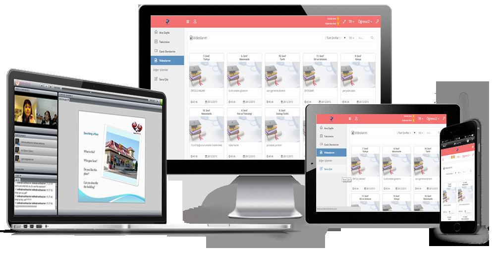 VeduBoxu her türlü platformdan kullanabilirsiniz.