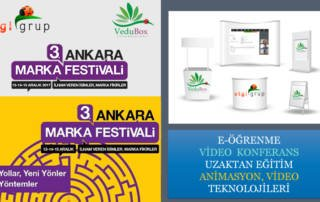 3. Ankara Marka Festivali'ne Katıldık