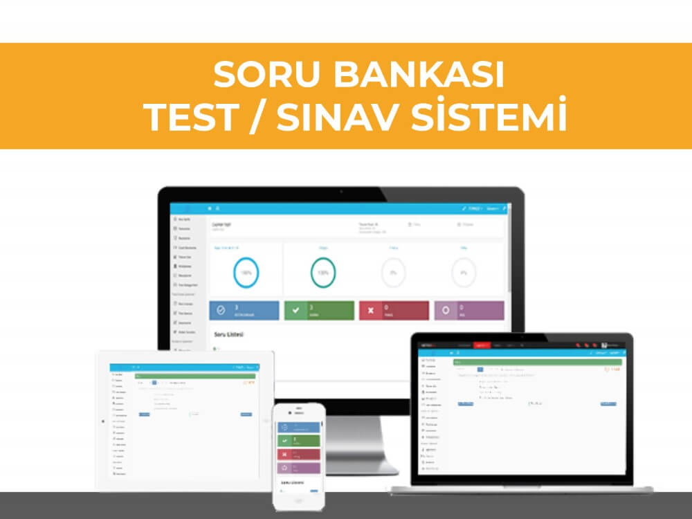 VeduBox Soru Bankası, Test ve Sınav Sistemi