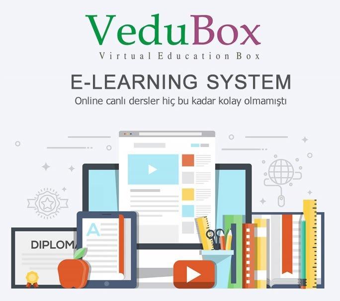 VeduBox Uzaktan Eğitim ve Konferans Sistemi   e-Learning